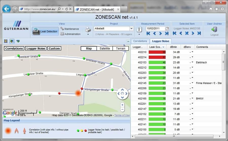 Capture d'écran de ZONESCAN NET